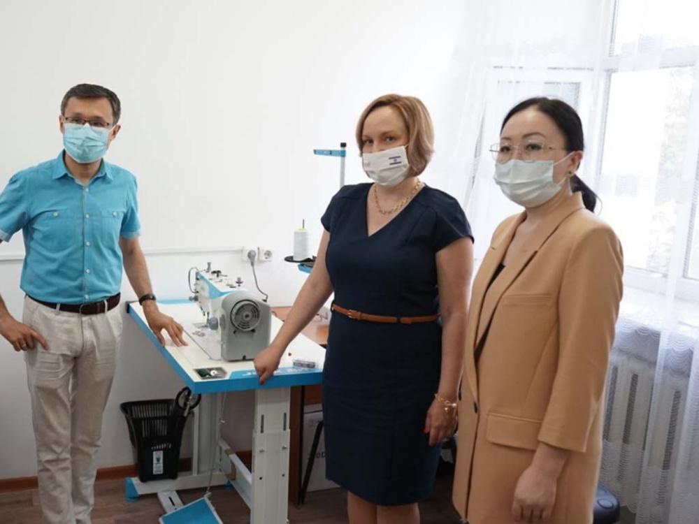 В Семее открылась социальная швейная фабрика