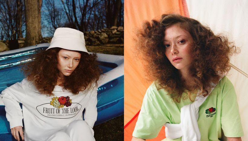 Zara и Fruit of the Loom представили совместную коллекцию одежды для дома
