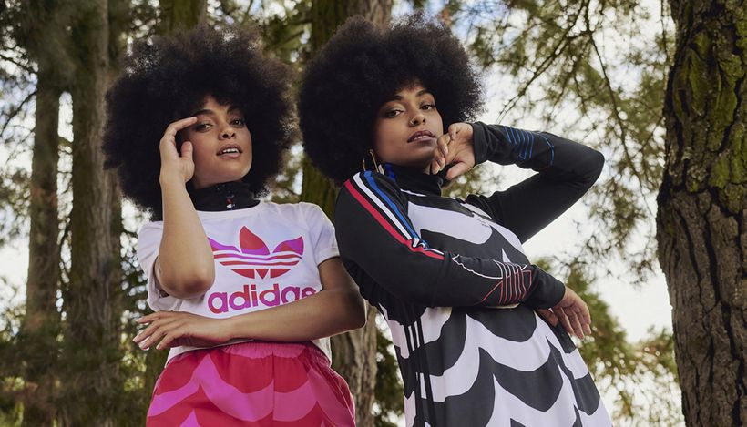 Adidas и финский бренд Marimekko представили совместную коллекцию