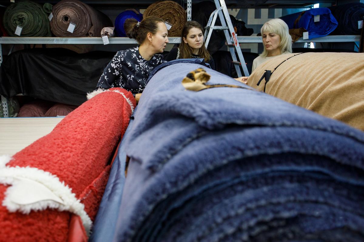 В Екатеринбурге шьют экошубы
