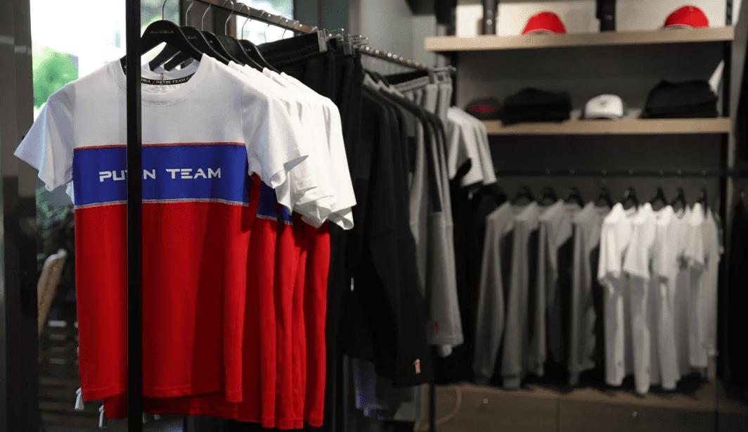Российский бренд одежды Putin Team открыл первый флагманский магазин