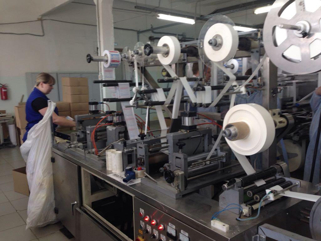 Тейковское предприятие по производству медицинского текстиля значительно увеличило объемы выпускаемой продукции