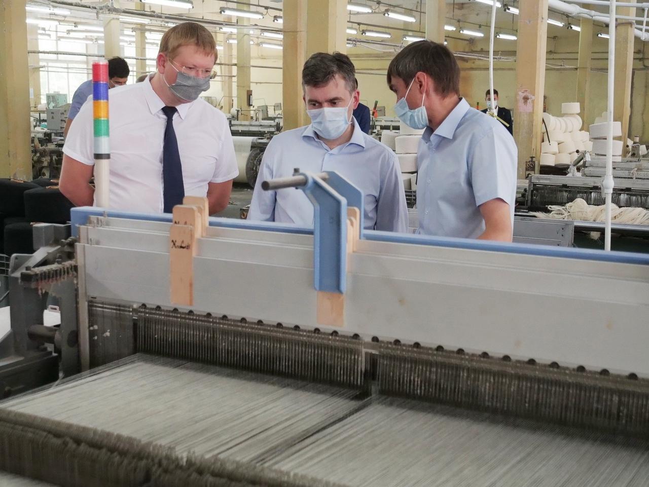 В Савино возрождают ткацкую фабрику «Солидарность»