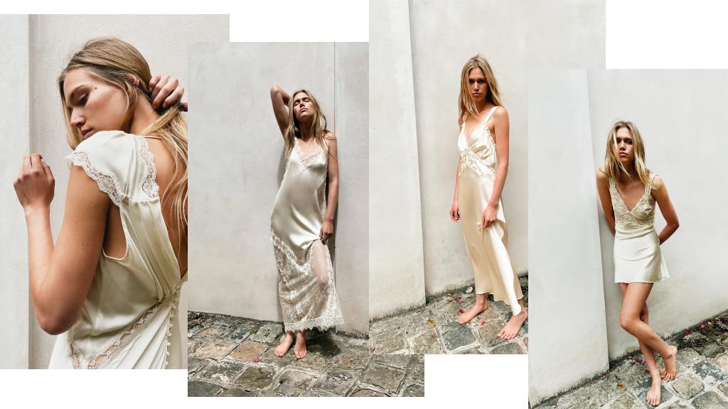 Бренд Zara представил свою первую свадебную коллекцию