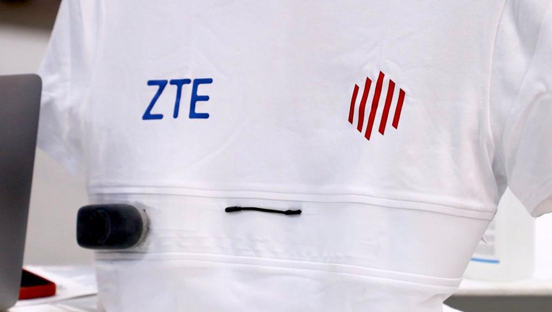 ZTE презентовал умную футболку с функцией отслеживания состояния здоровья владельца