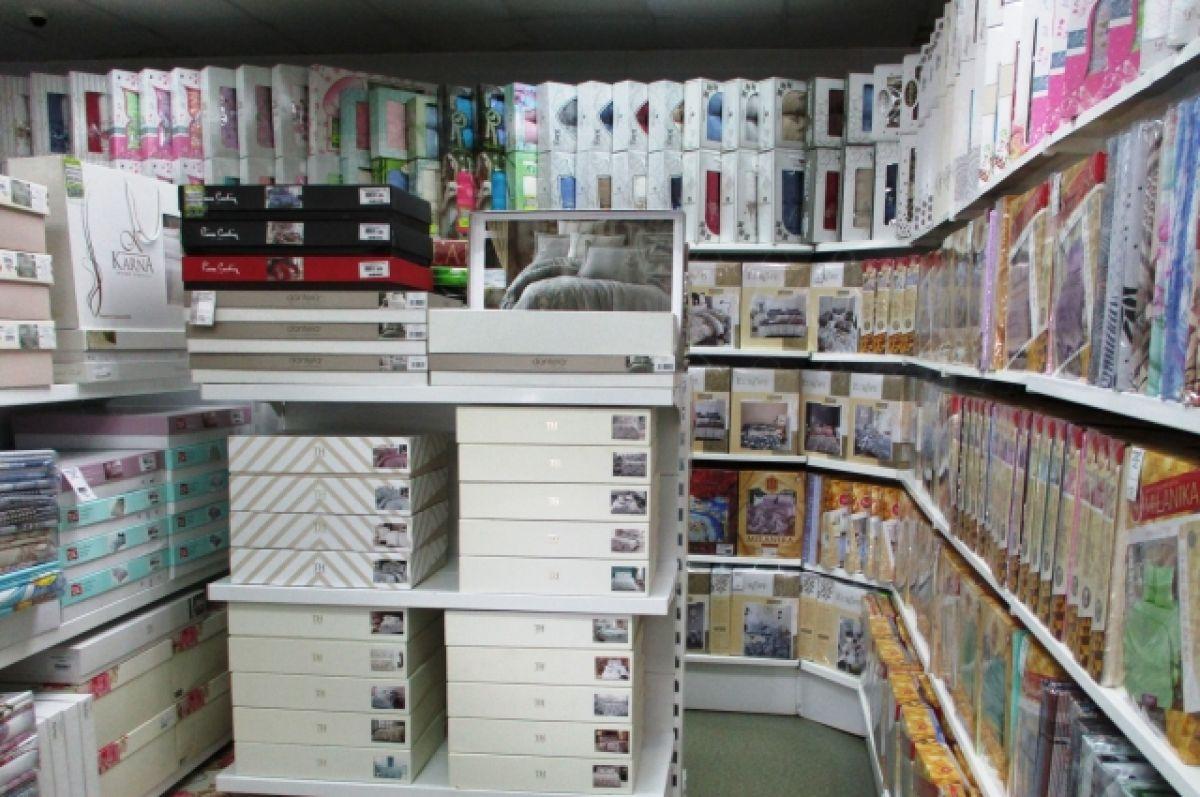 В Красноярске изъяли крупную партию текстиля без маркировки