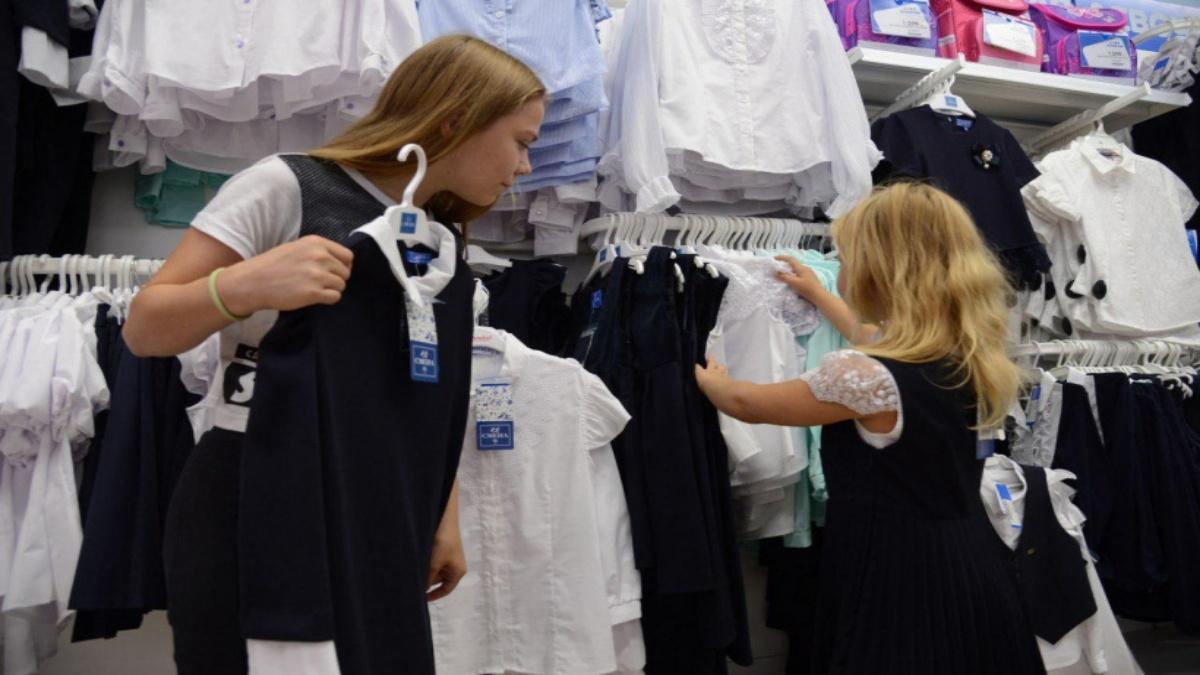 В России вырос спрос на школьную форму по сравнению с прошлым годом