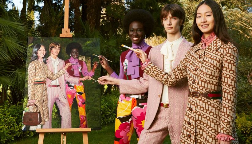 Модный Дом Gucci запустил интернет-платформу эксклюзивной одежды