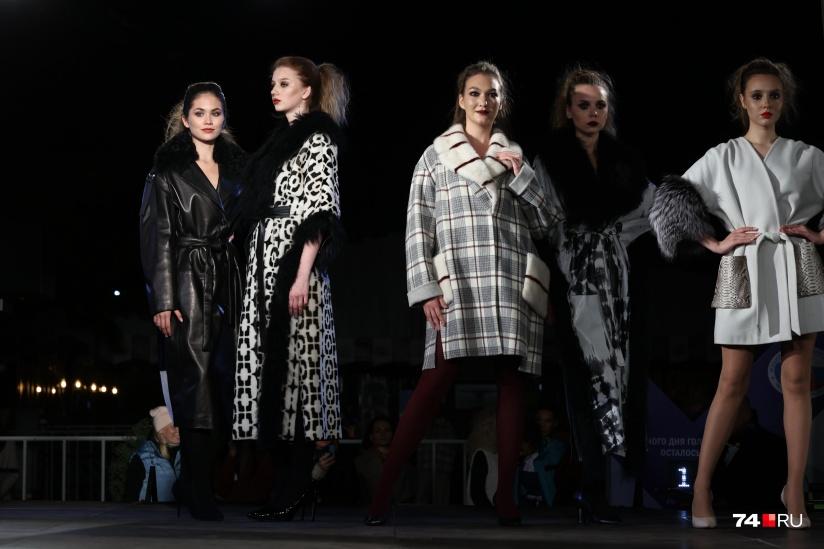 В Челябинске состоялся модный показ c элементами театрального представления