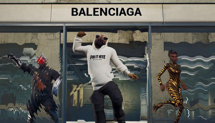 Бренд Balenciaga выпустил коллекцию цифровой одежды