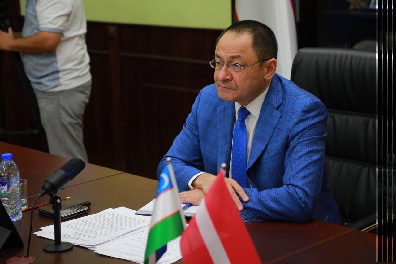 Торговый дом Узбекистана открыт в Риге